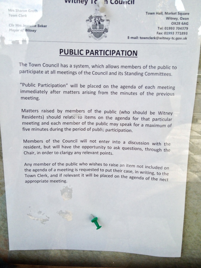 Encouraging local democracy?