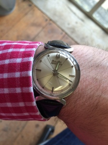 1964 Bulova Accutron – powered by a tuning fork